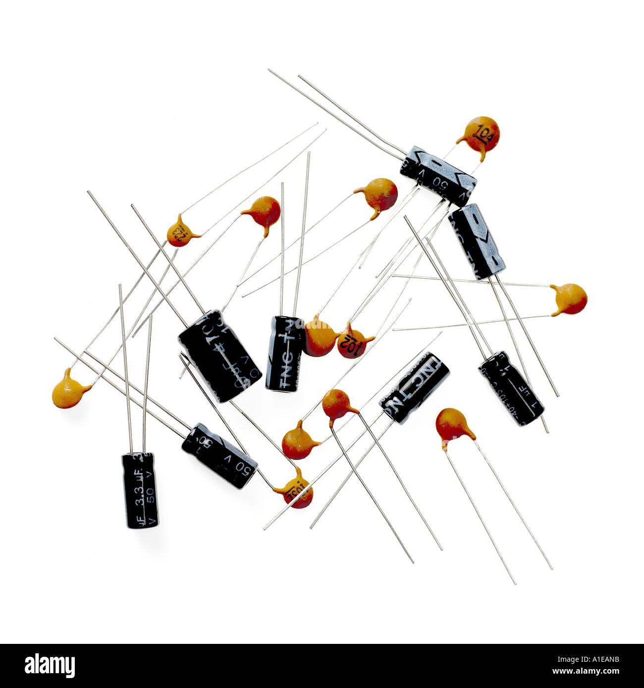 Resistors - Stock Image