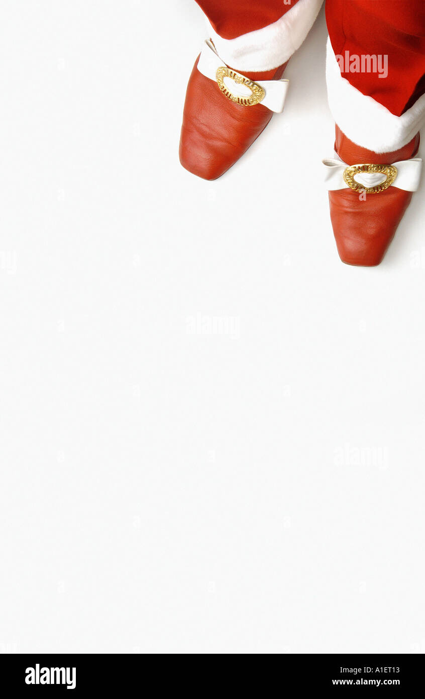 Santa Claus outfit - Stock Image