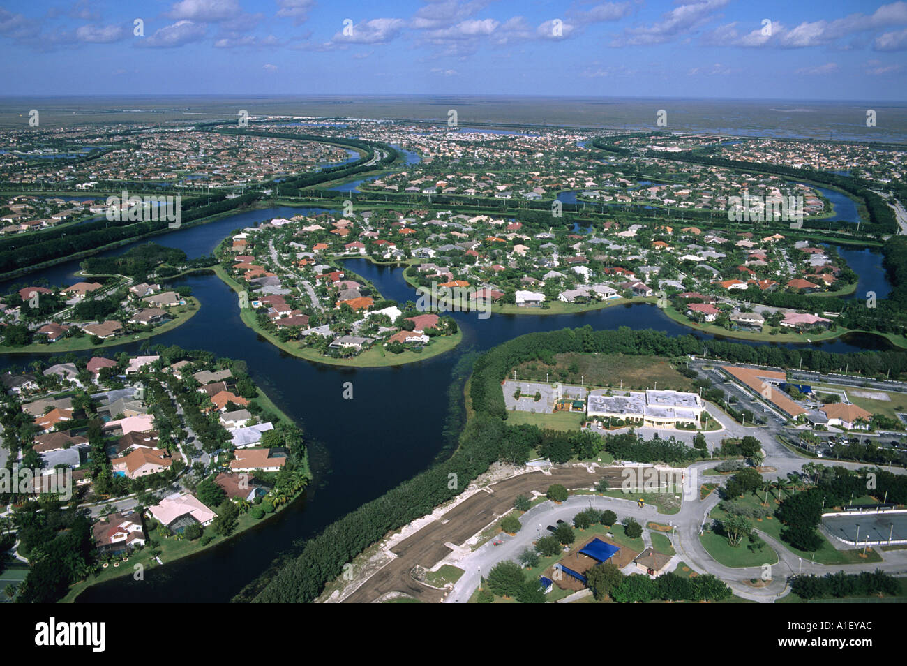 Housing And Subdivisions In The Northwest Section Of Miami