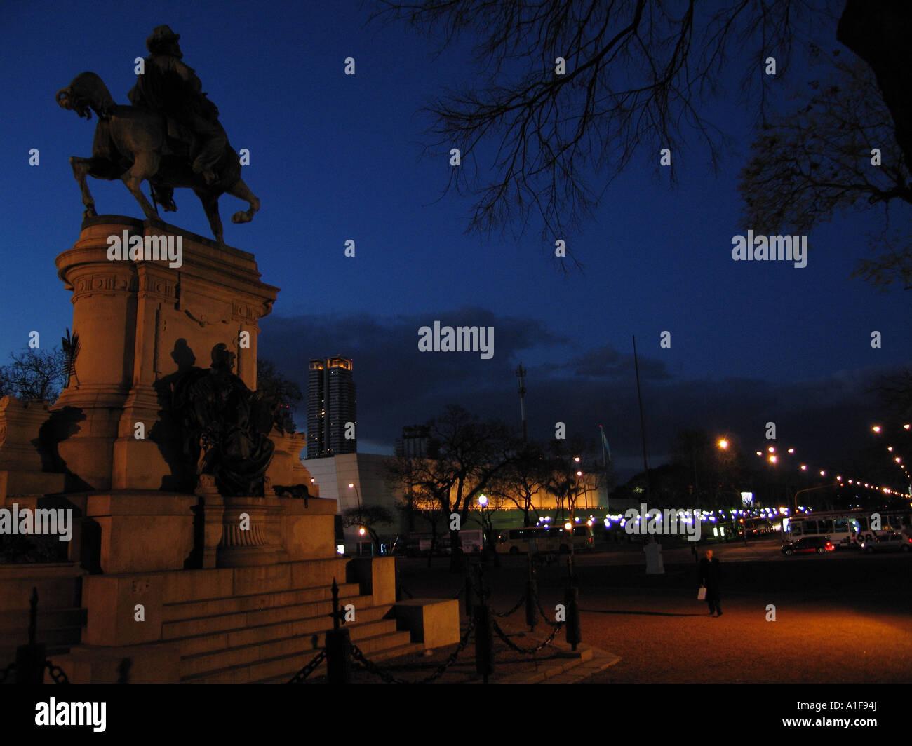 at dusk - Stock Image