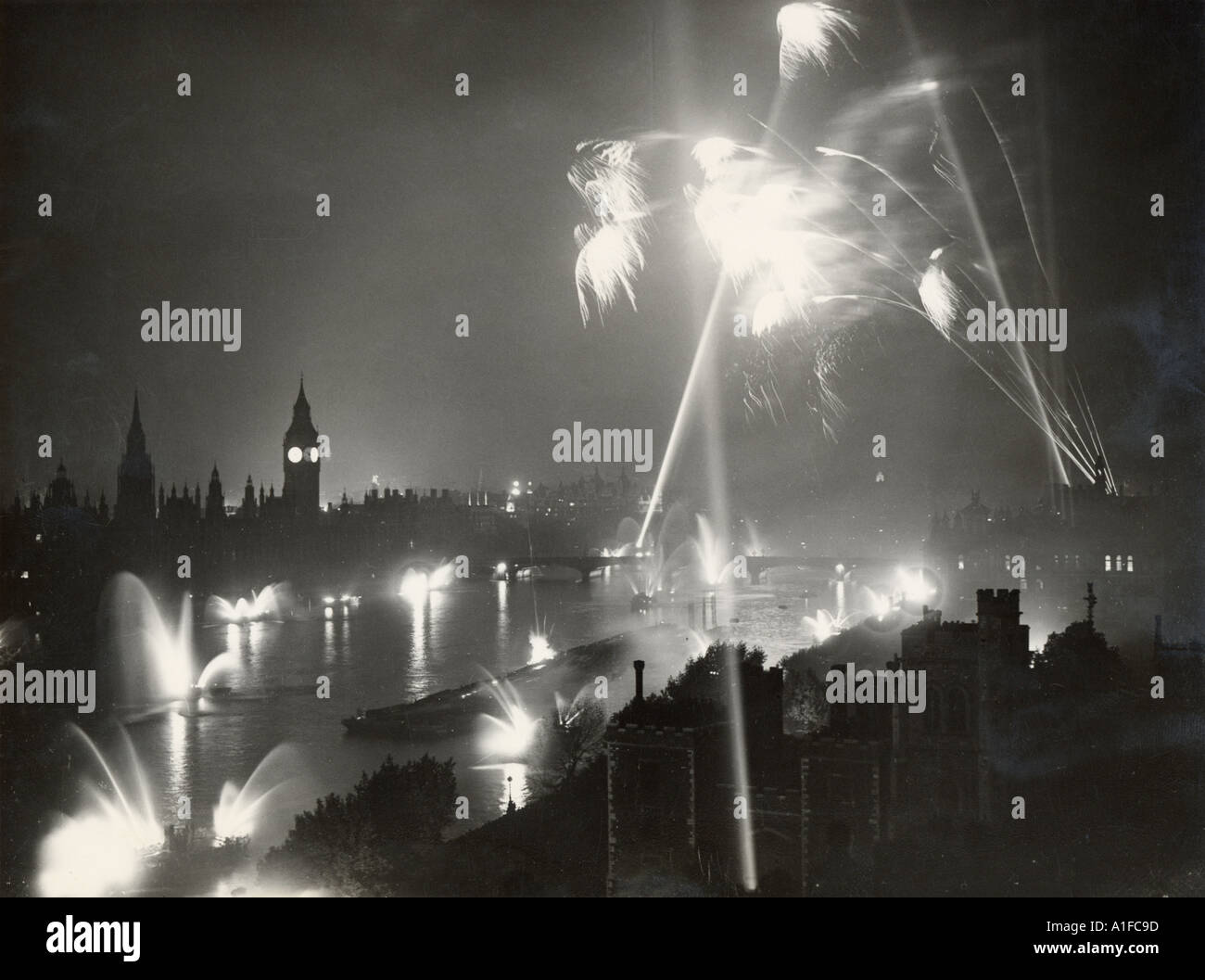 Post War Scene Berlin - Stock Image