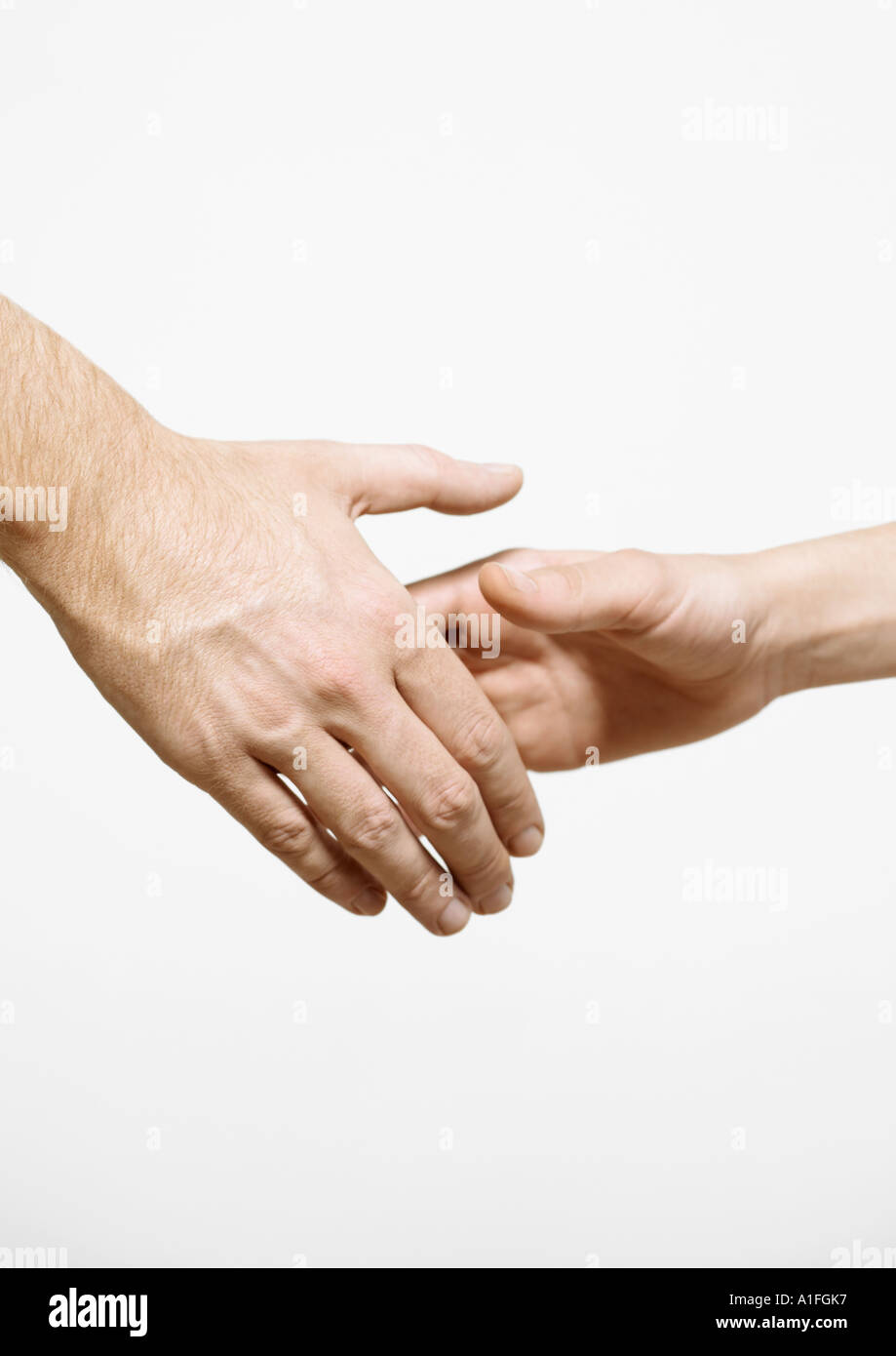 Shaking hands - Stock Image
