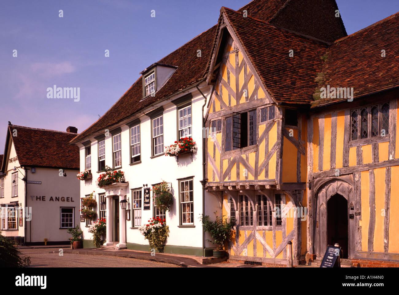 Little Hall, Lavenham, Suffolk, England, UK - Stock Image