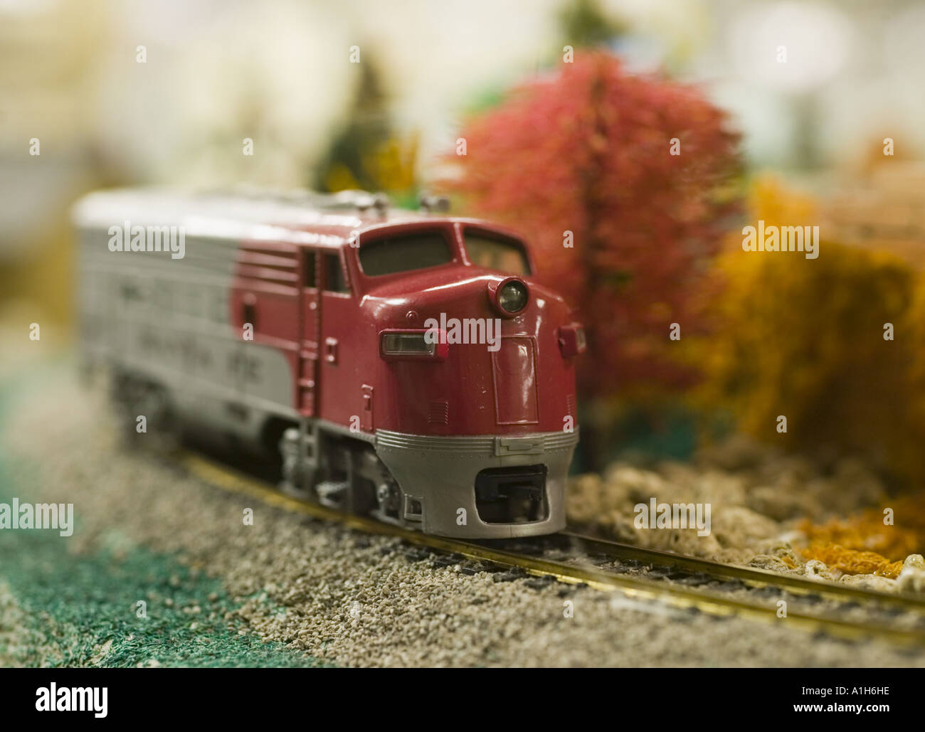 Toy train by Lionel Stock Photo