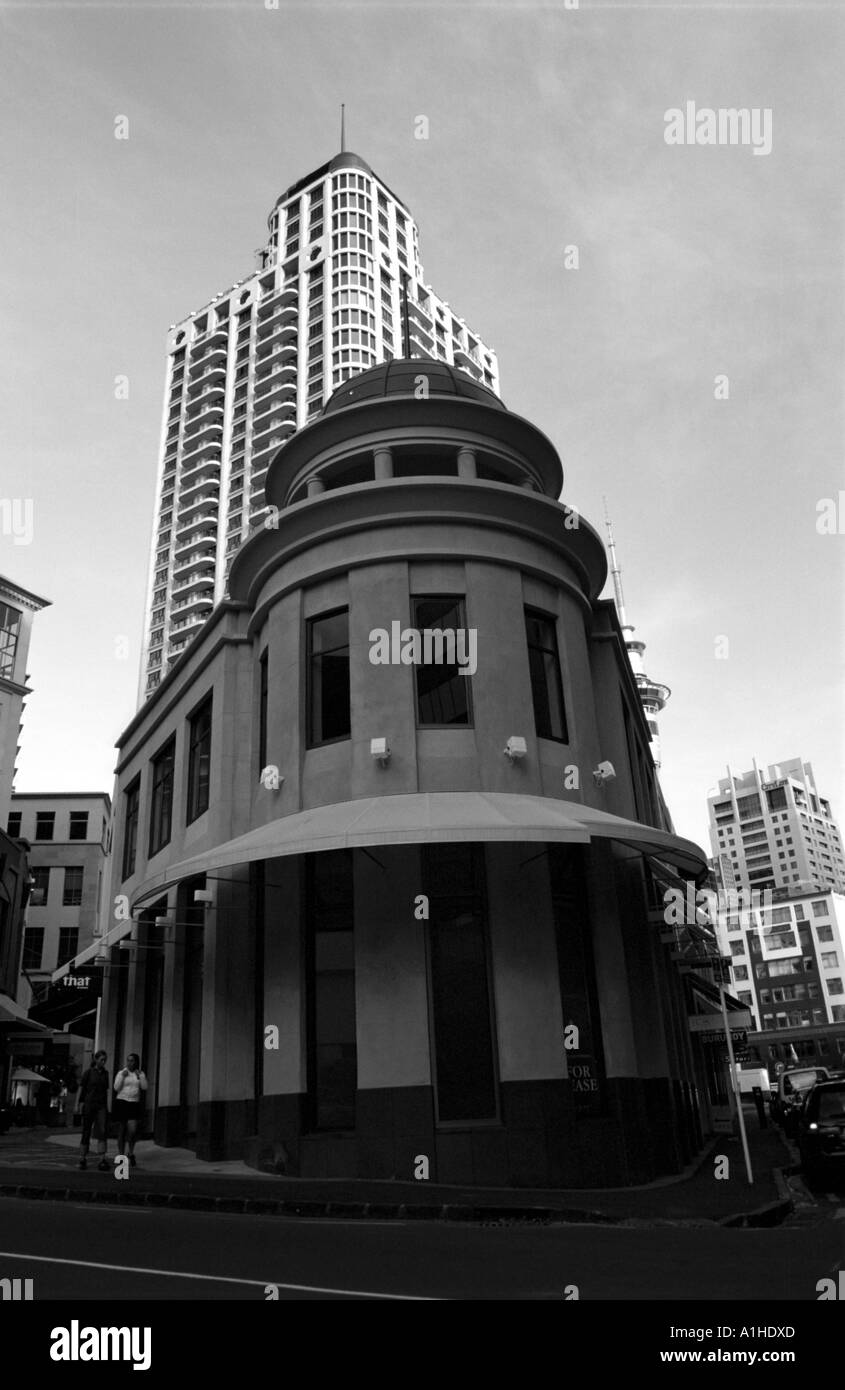 Building, Auckland, NZ - Stock Image
