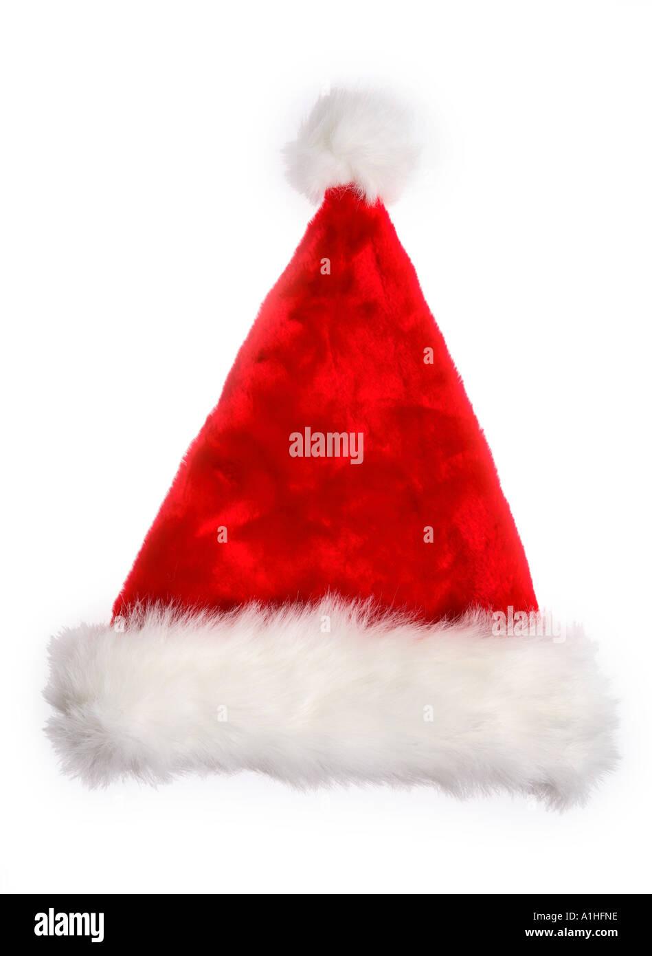 Santa Claus hat - Stock Image