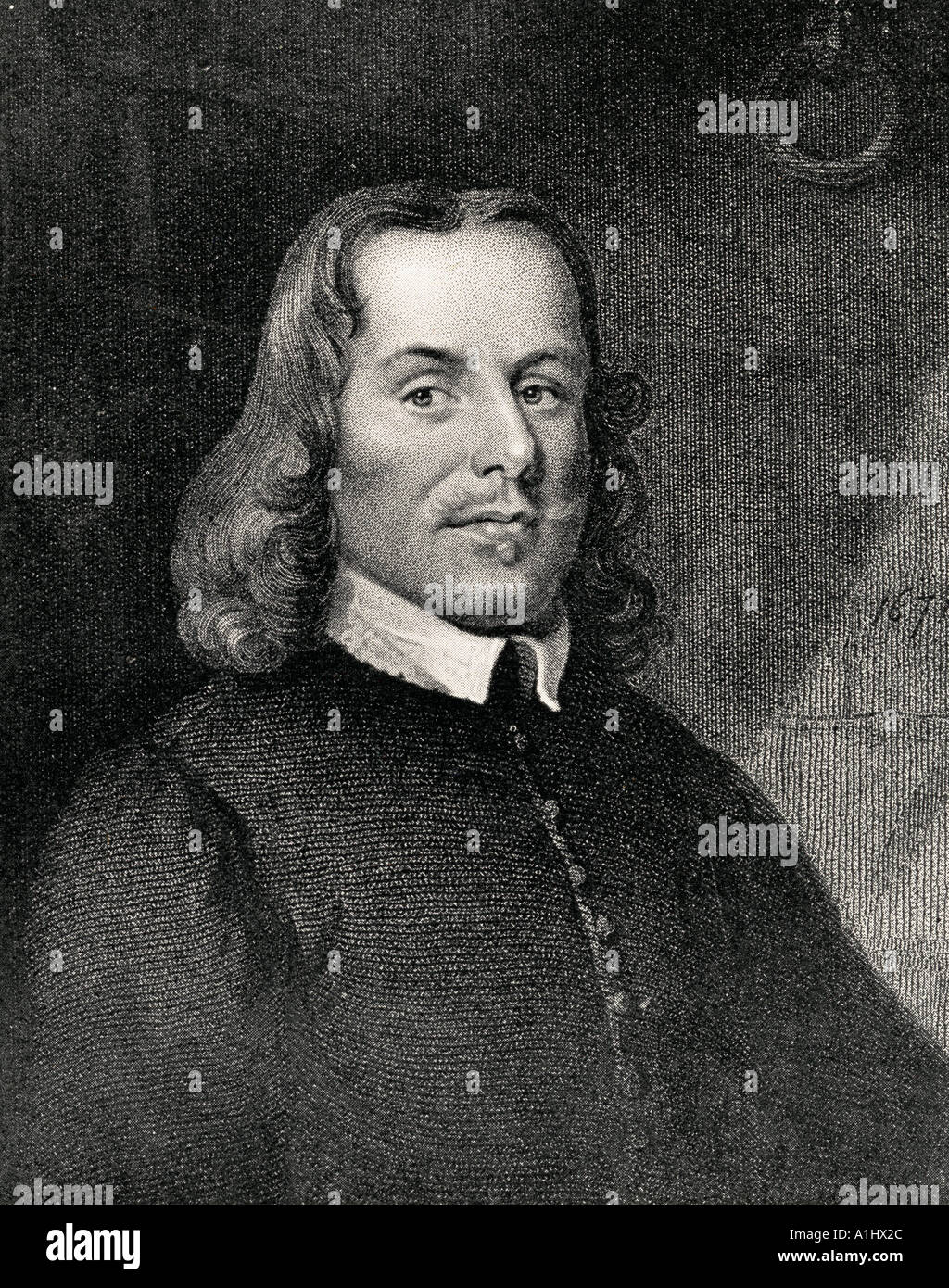 John Bunyan, 1628 - 1688.  English author of The Pilgrim's Progress, and Puritan preacher. Stock Photo
