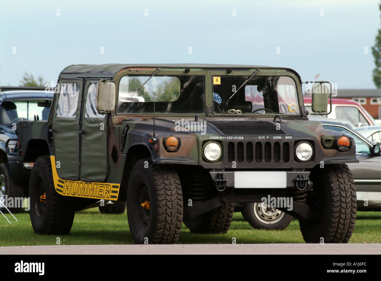 hummer suv humvee american miltary vechical camoflage camo world war stock photo 1894139 alamy. Black Bedroom Furniture Sets. Home Design Ideas