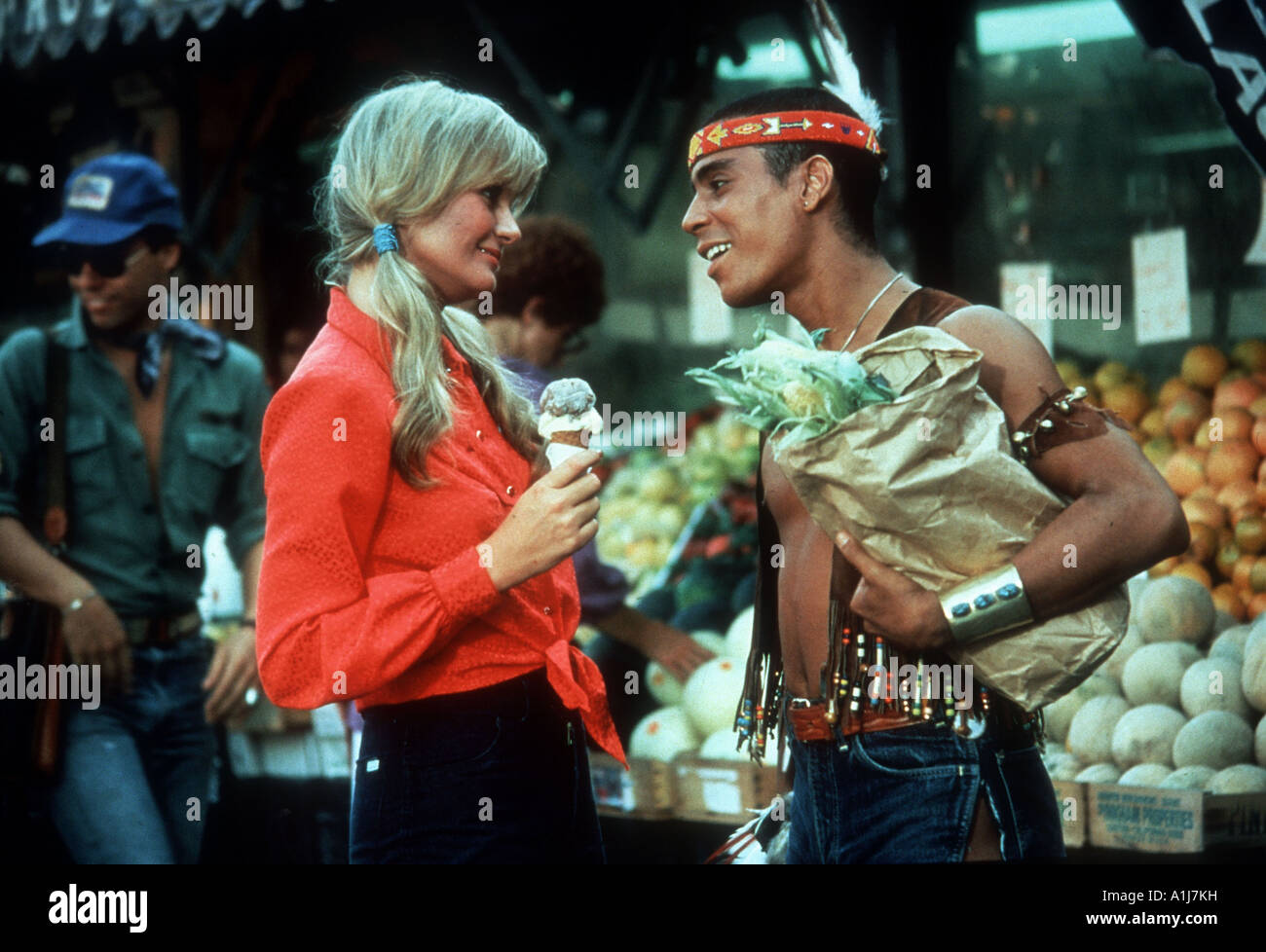 Can t Stop The Music Year 1980 Director Nancy Walker Valerie Perrine - Stock Image