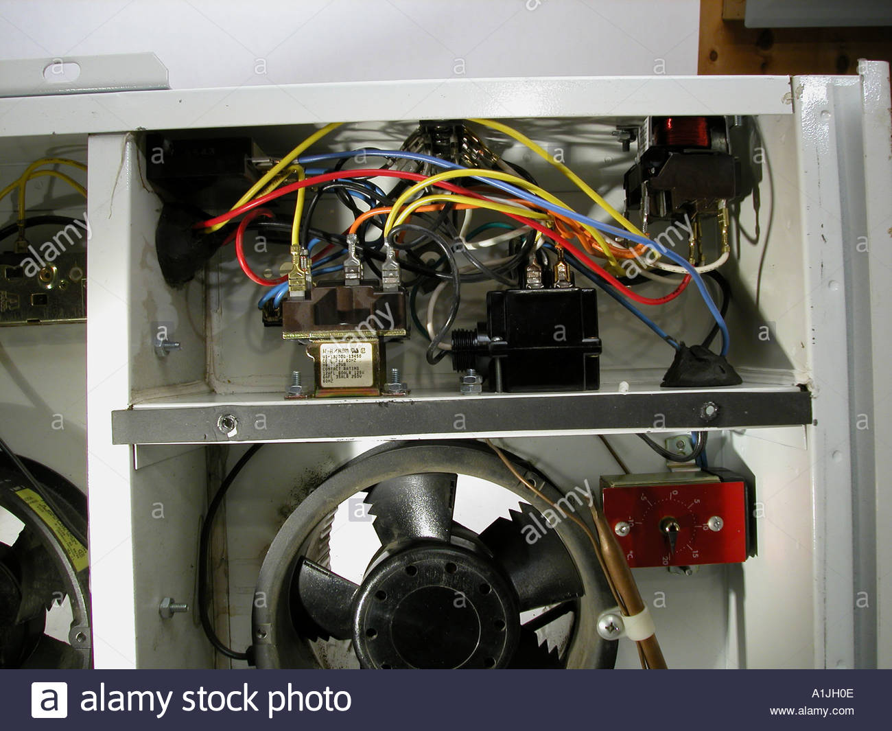 Relays Stock Photos Images Alamy Relay Electric Virginia Beach Complex Electrical Wiring In Air Exchanger Controller Showing Thermocouple Humidity Image