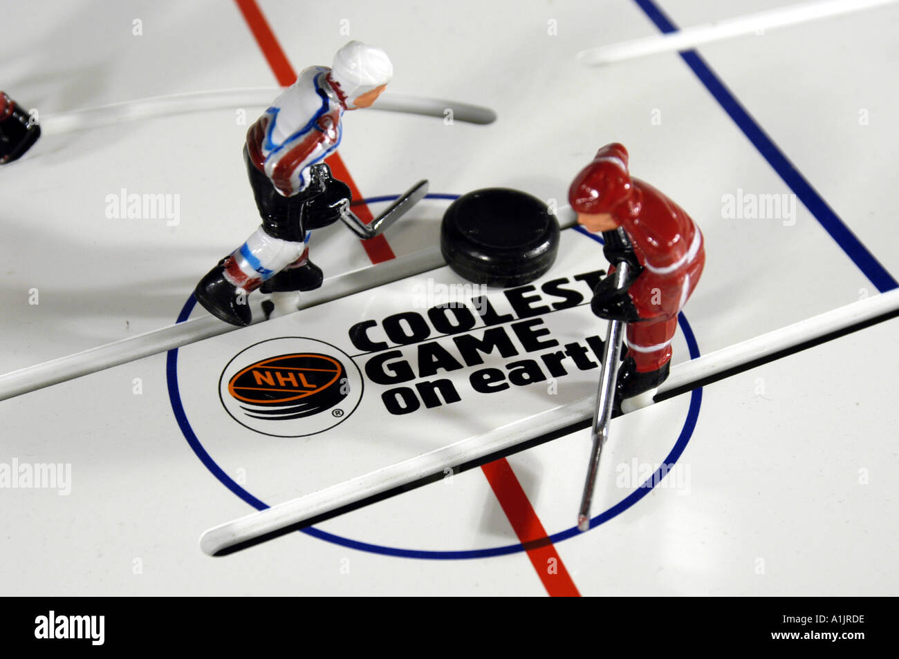 Toy Stiga Stanley Cup Hockey table game players Detroit Red Wings ...
