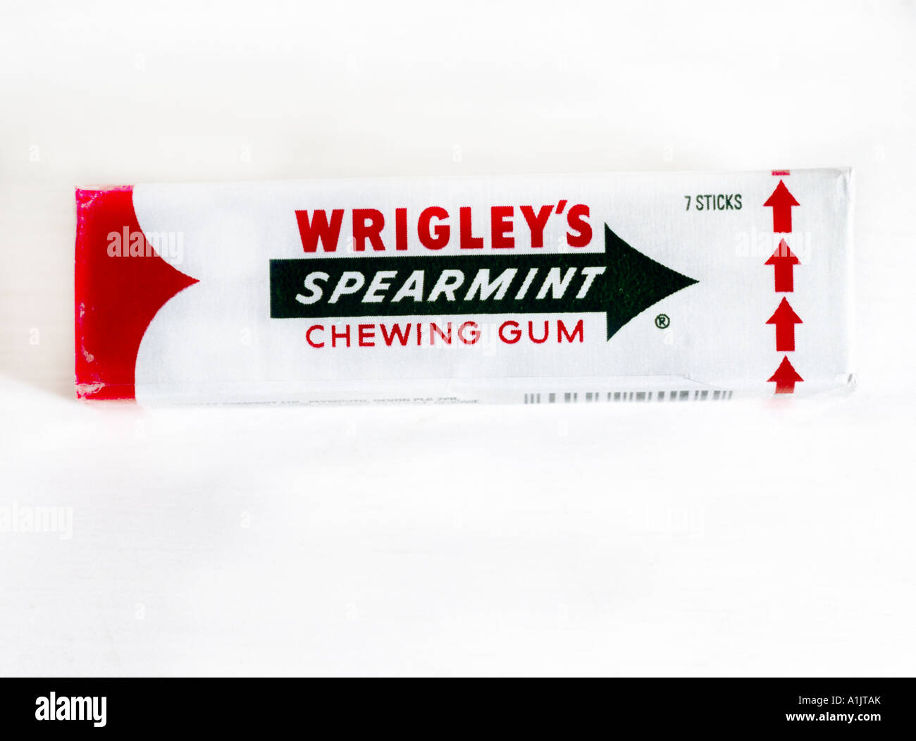 Wrigleys spearmint gum stock photos wrigleys spearmint gum stock packet of chewing gum wrigleys spearmint stock image altavistaventures Gallery