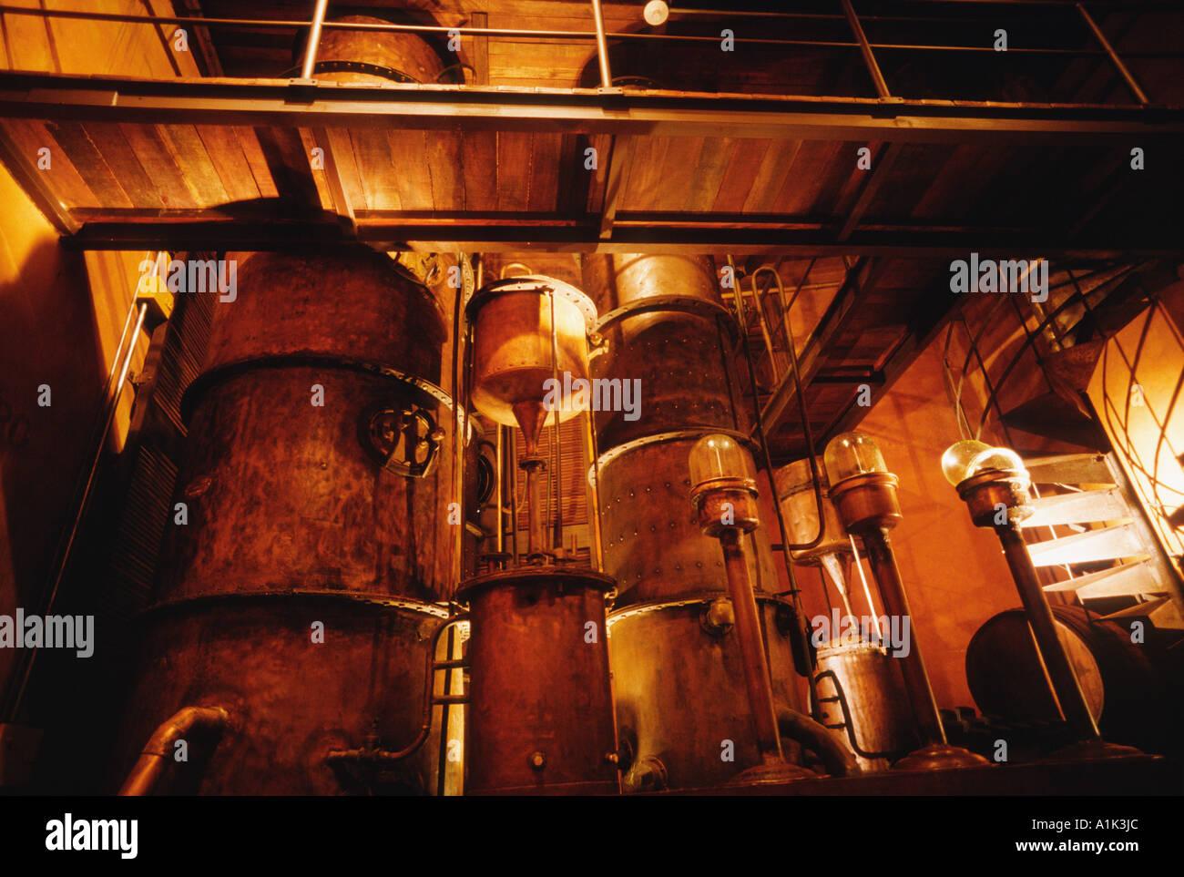 Havana Cuba Exhibit at the Museo del Ron Fundacion Havana Club - Stock Image