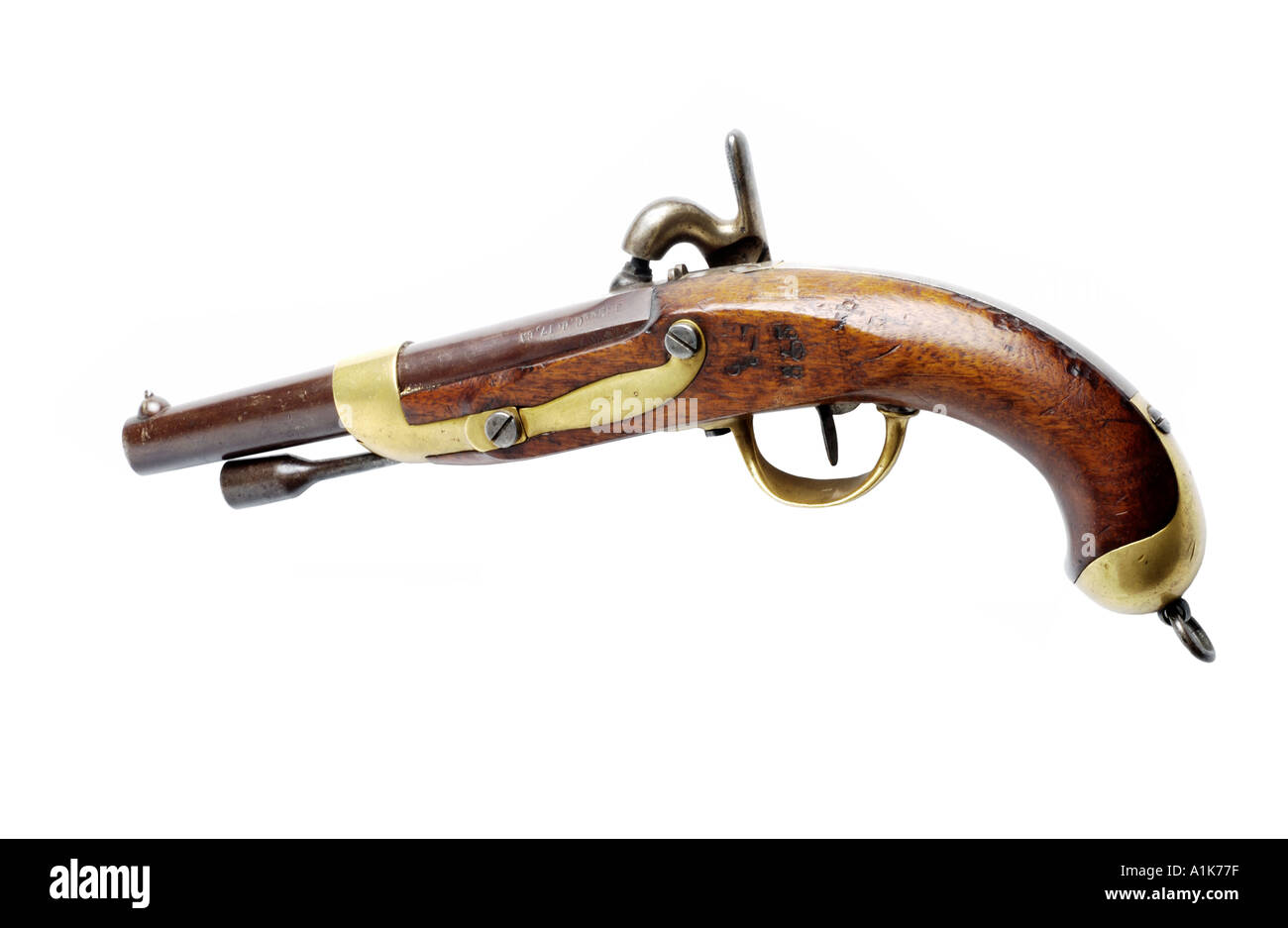 antique pistol - Stock Image