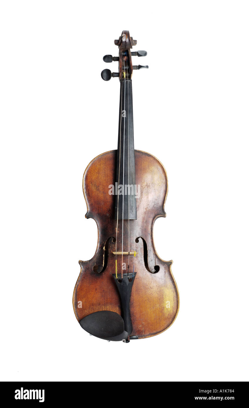 Antique violin - Stock Image