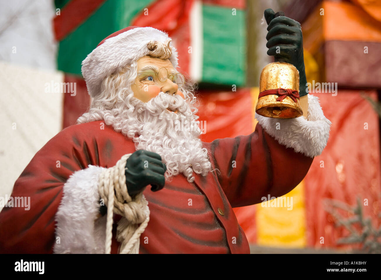 Santa Claus, Europa-Park Rust, Baden-Wuerttemberg, Germany - Stock Image
