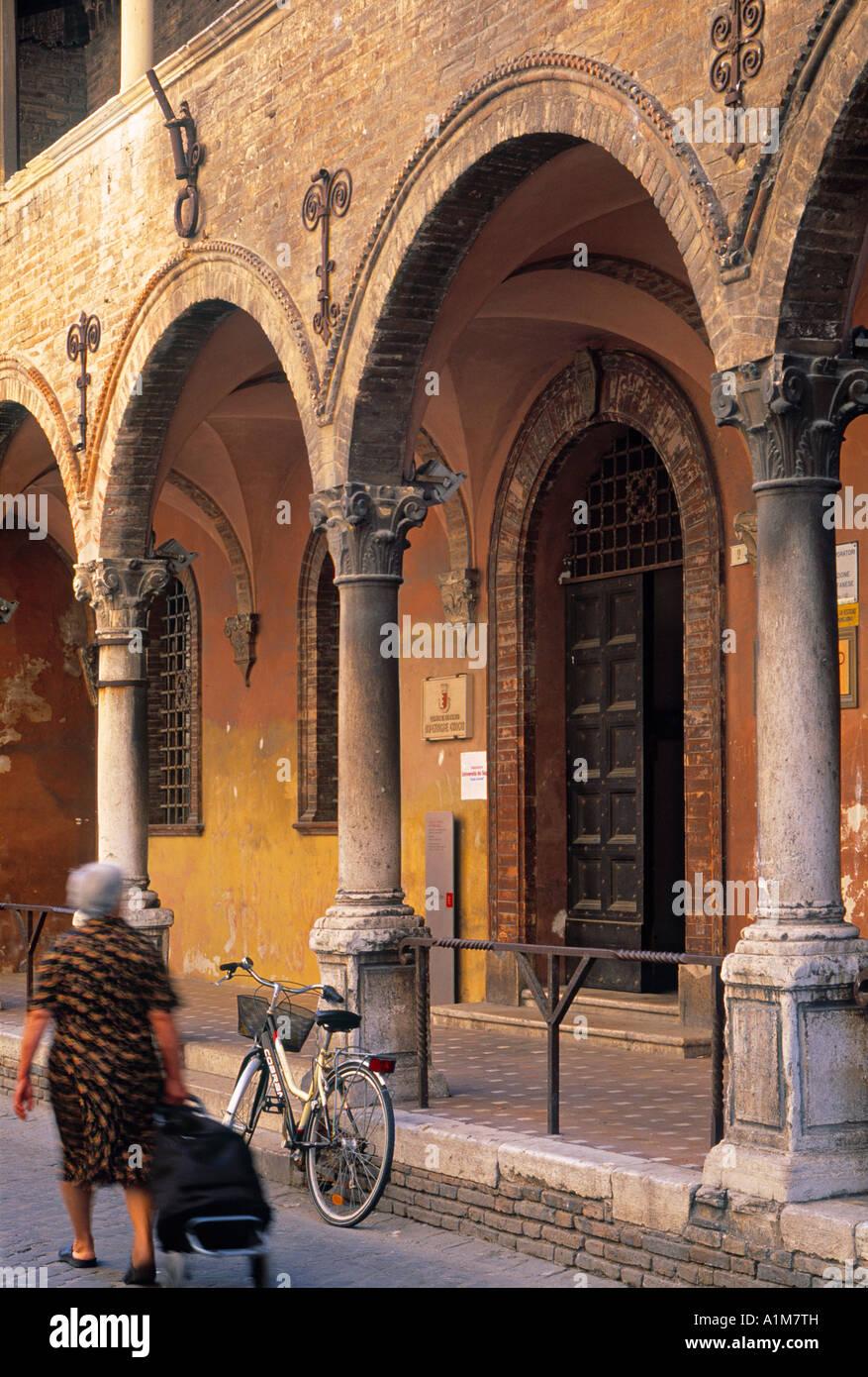 Fano, Le Marche, Italy - Stock Image