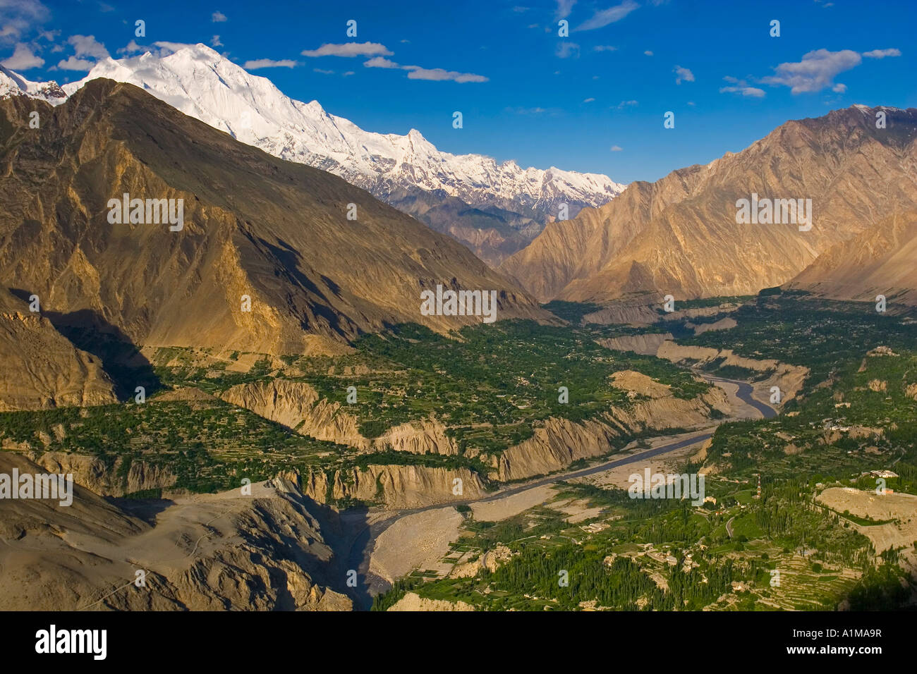 Karimabad, Hunza Valley, Karakoram, Pakistan - Stock Image