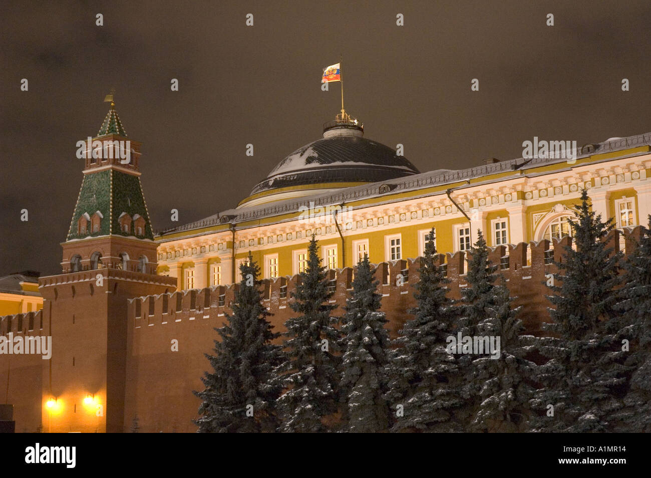 The Great Kremlin Palace in central Moscow - Stock Image