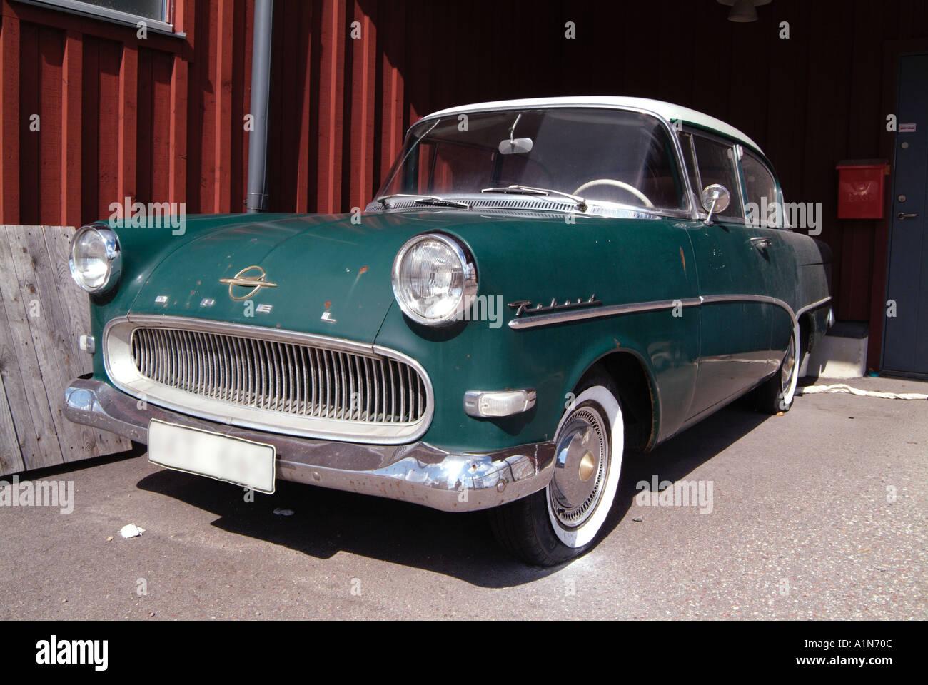 opel kapitan classic car old general motors petrol Stock Photo ...