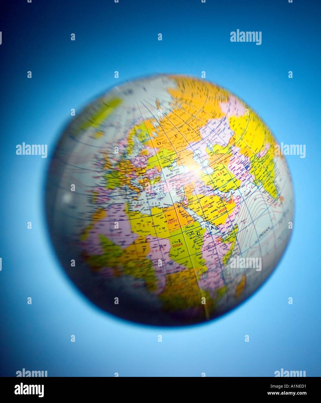 World Globe - Stock Image
