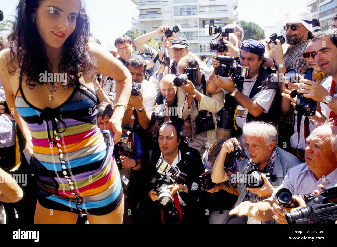 Porn At Festival cannes film festival the porn awards posing for