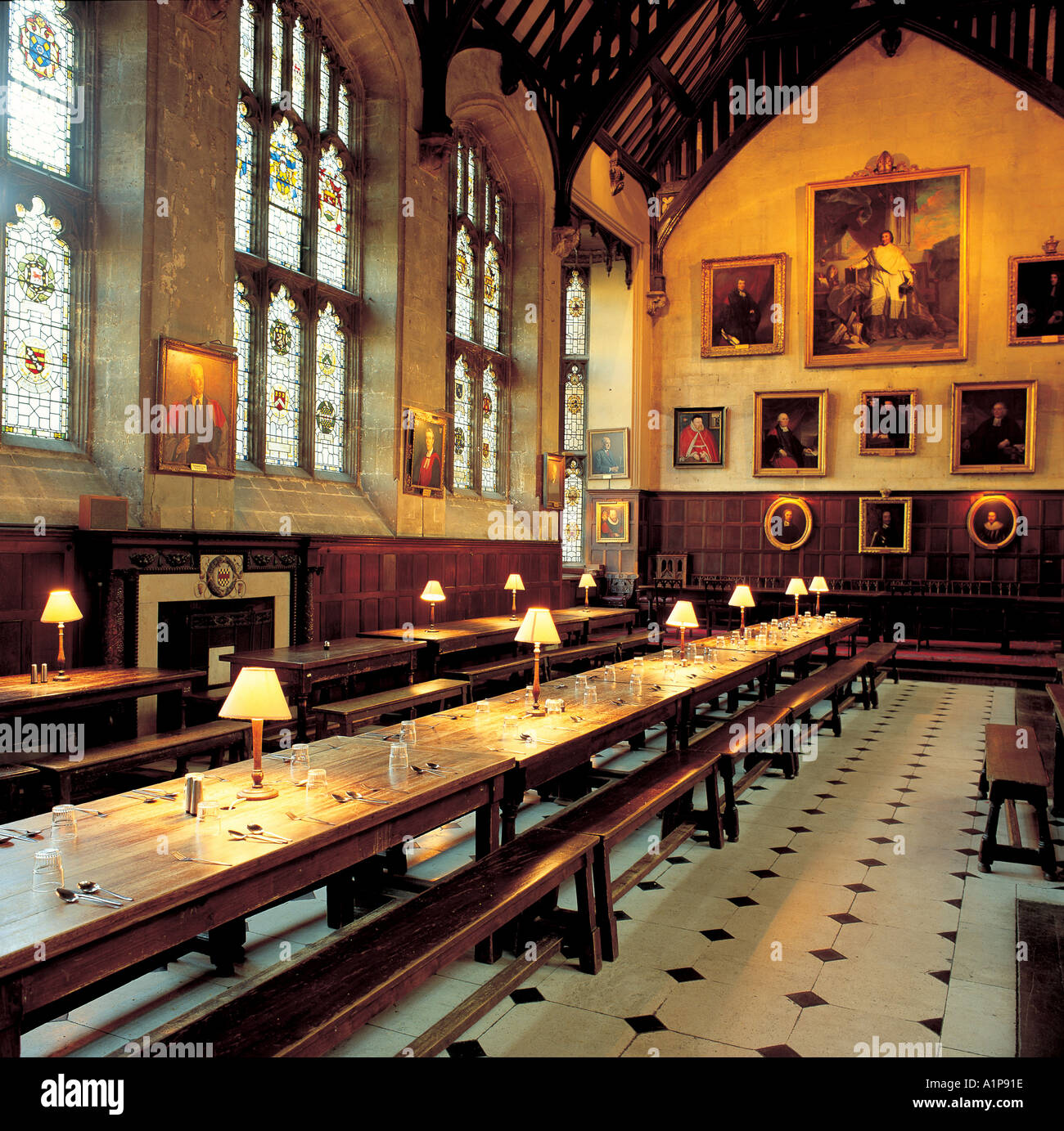 Exeter College Oxford Stock Photos & Exeter College Oxford