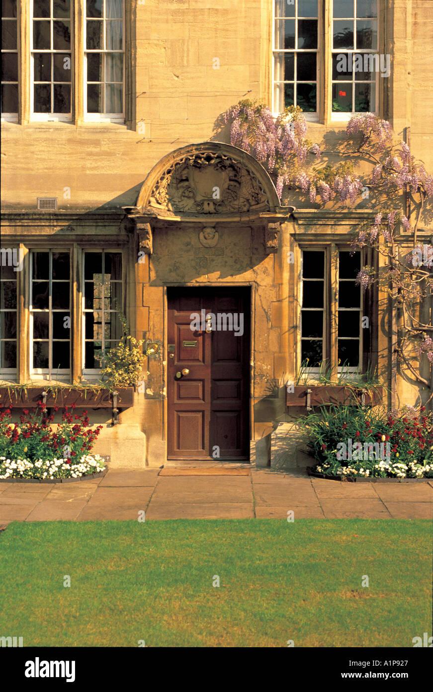 The Principals Lodgings Jesus College Oxford - Stock Image