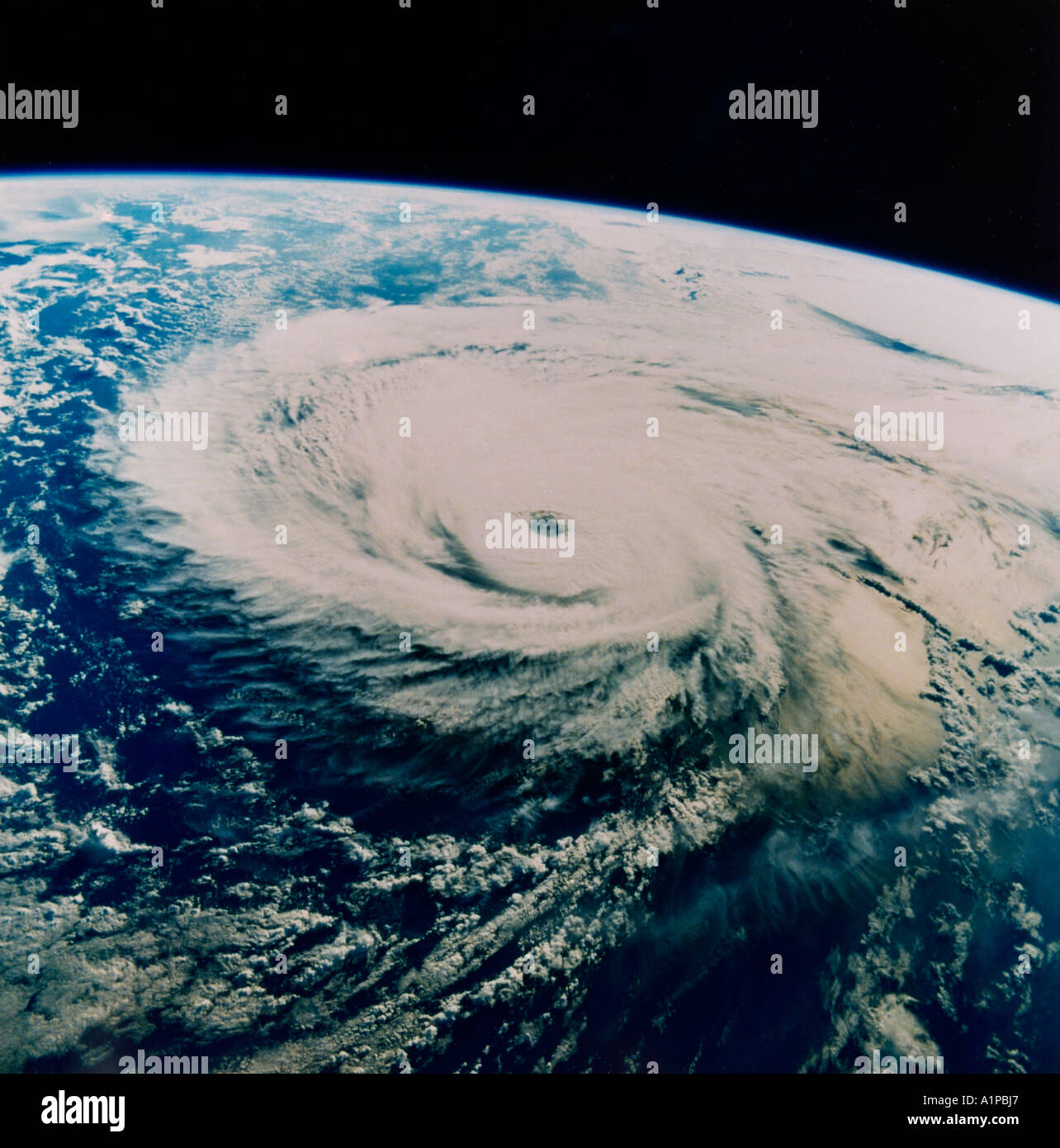 Hurricane From Space - Stock Image