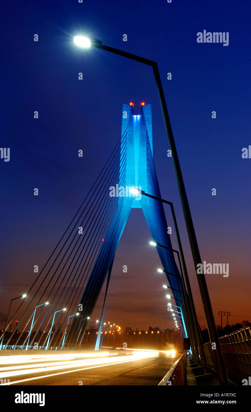 Boyne Bridge, Ireland - Stock Image