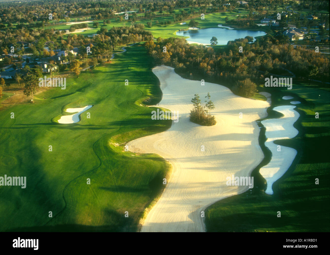 Black Diamond Ranch golf course Lecanto FL - Stock Image