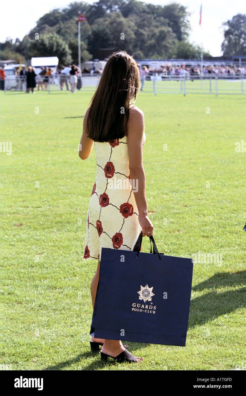 CARTIER POLO SMITHS LAWN UK - Stock Image