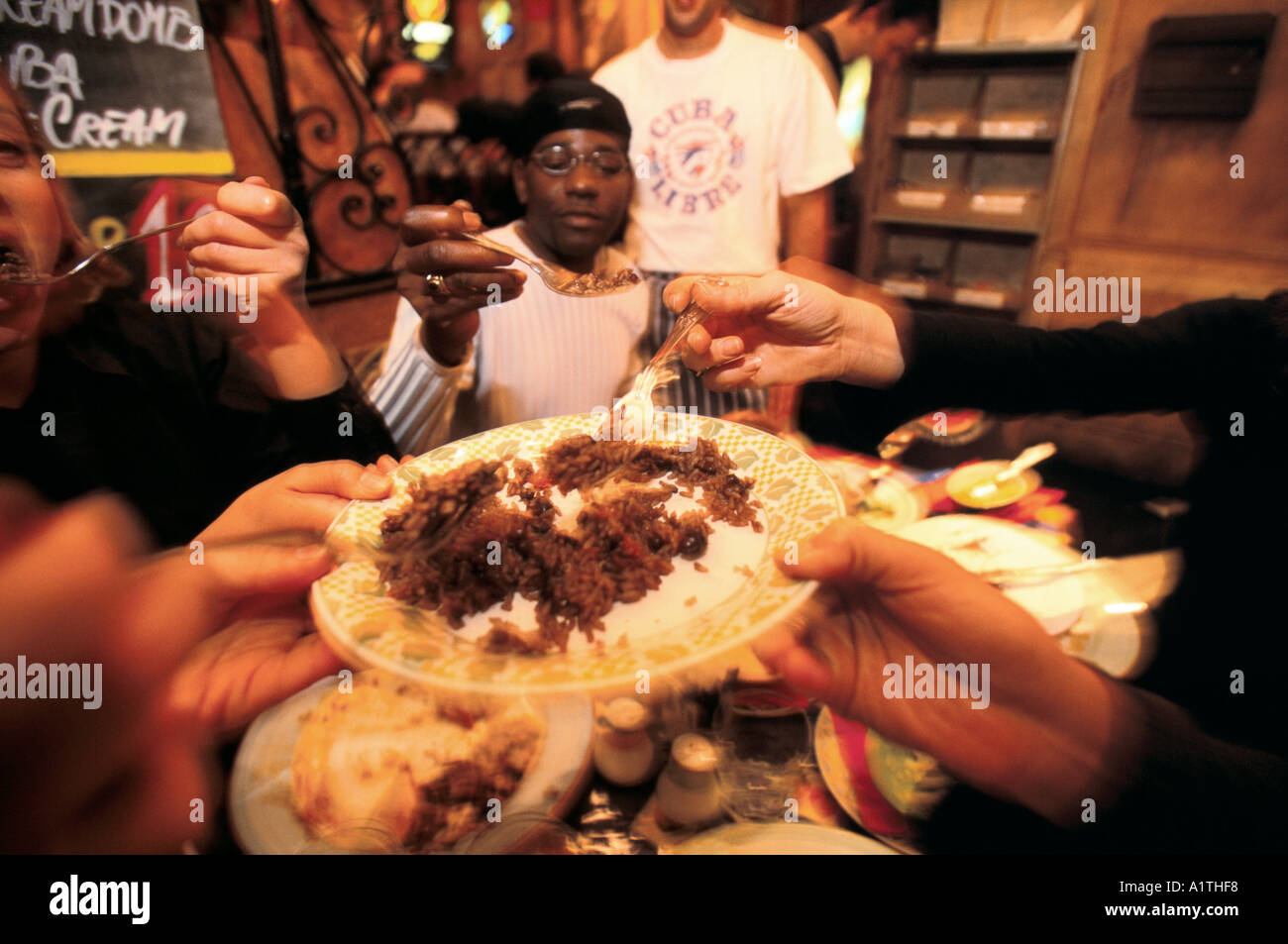 CUBA LIBRE RESTAURANT LONDON 2001 - Stock Image