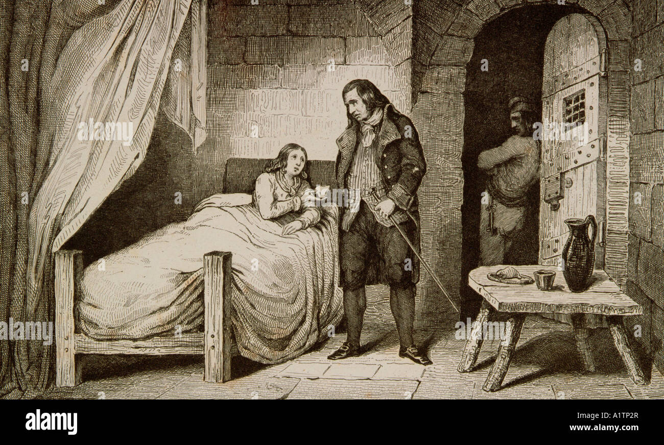 Louis XVII 1785 To 1795 Sick And Imprisoned From Histoire De France By  Colart Published Circa