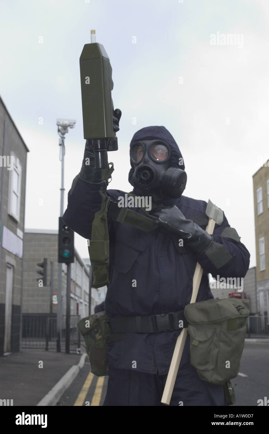 3388 UK Police CBRN Training Chemical Biological Nuclear