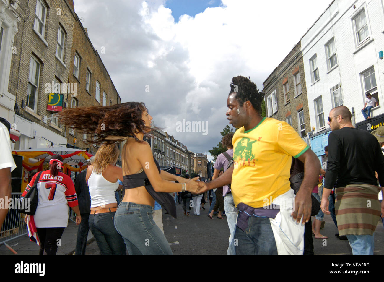 Notting Hill Carnival - Stock Image