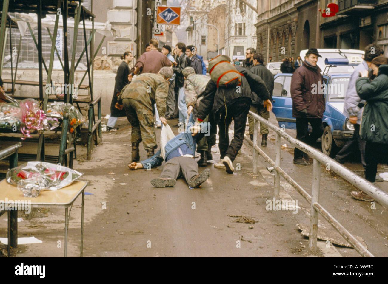 Image result for 1994 bosnian shelling sarajevo