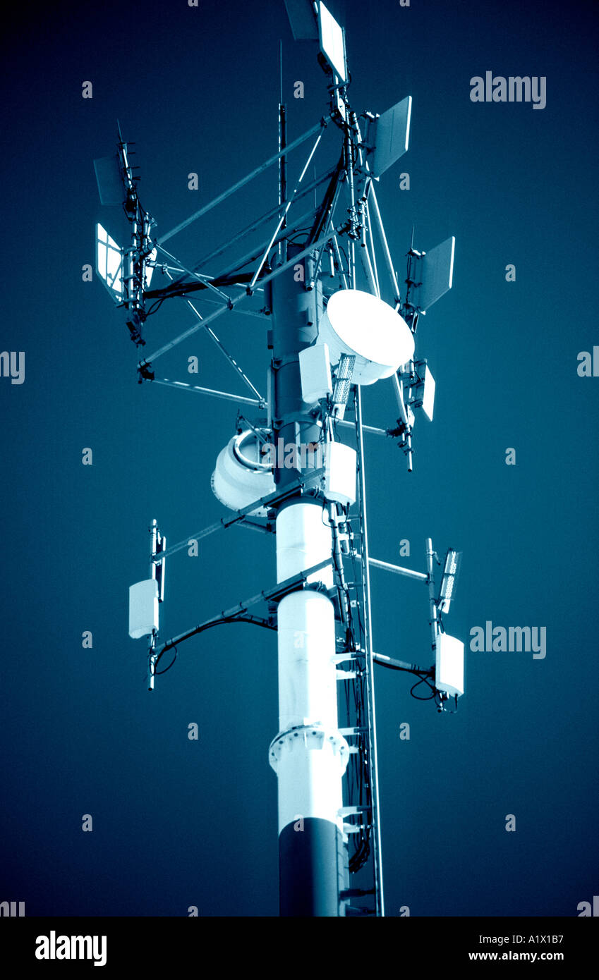 Transmission Tower - Stock Image