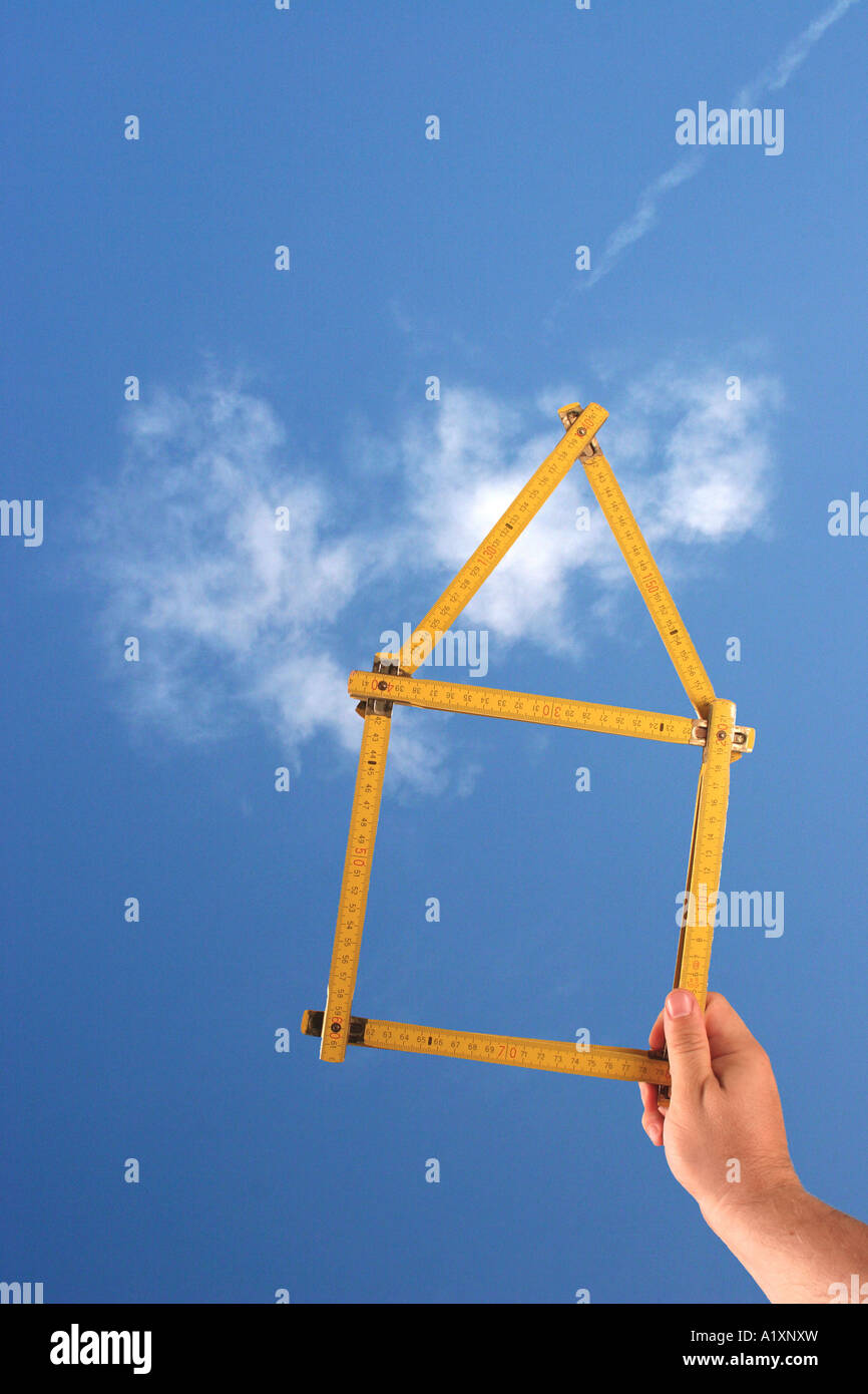 a dream house - Stock Image