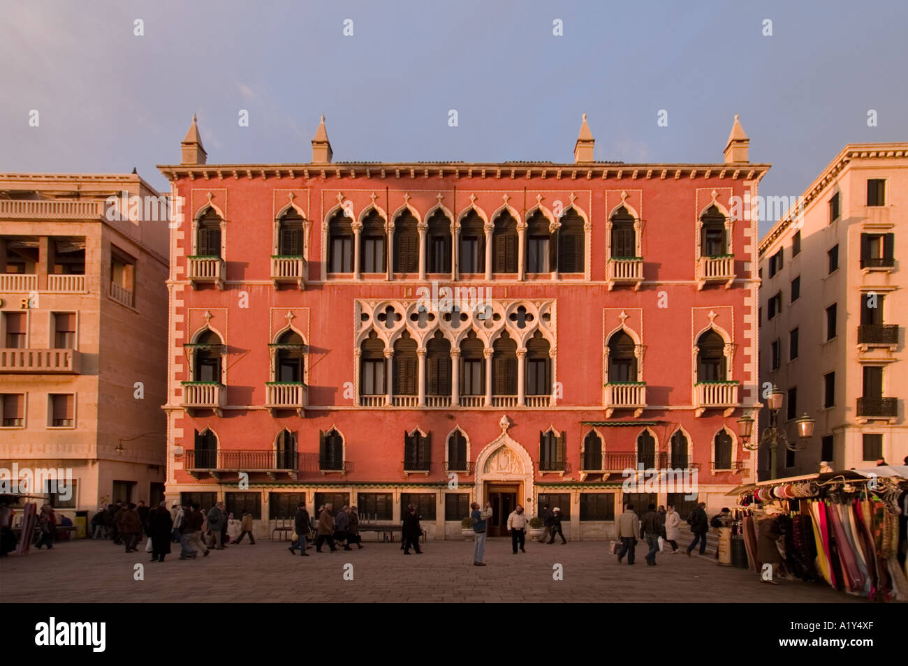 Hotel Danieli Venice Italy Stock Photo 5916334 Alamy