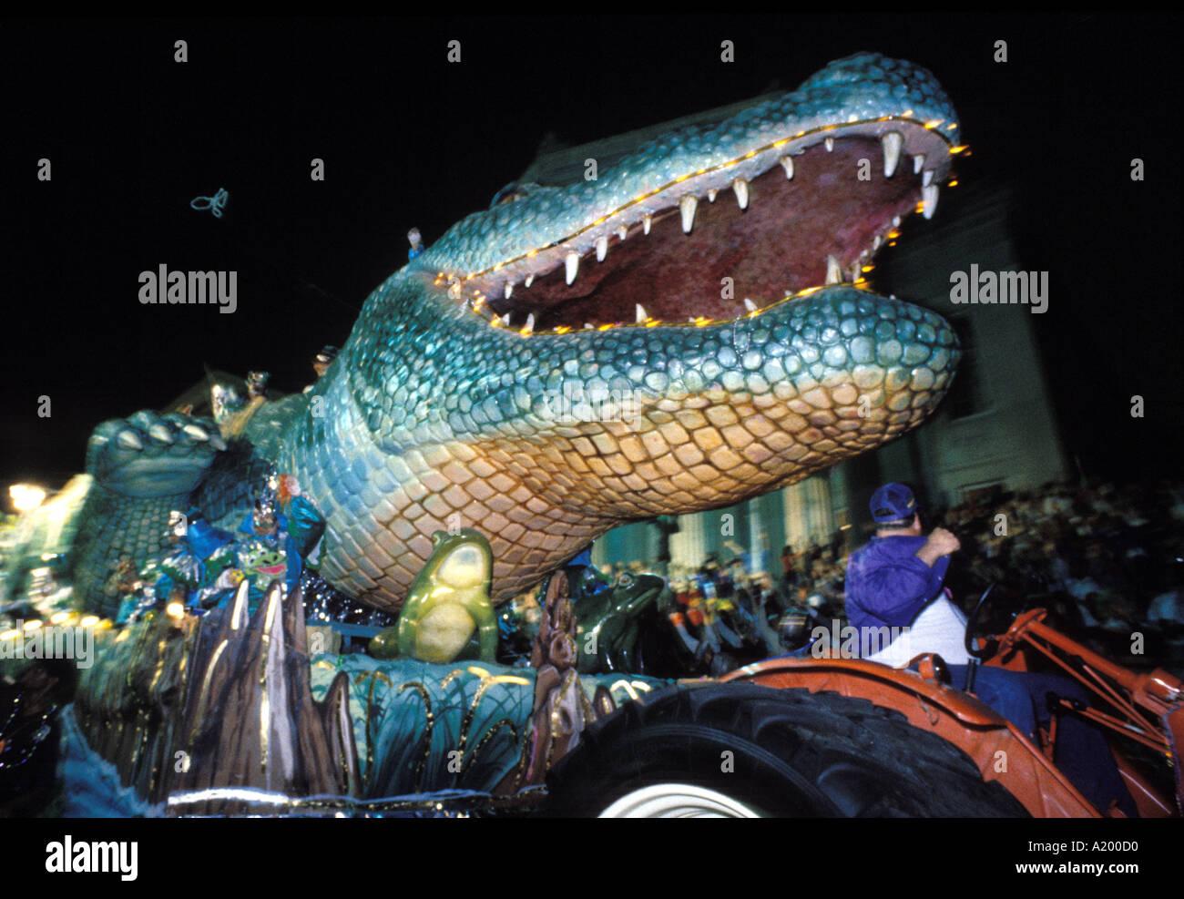 Mardi Gras New Orleans Stock Photo