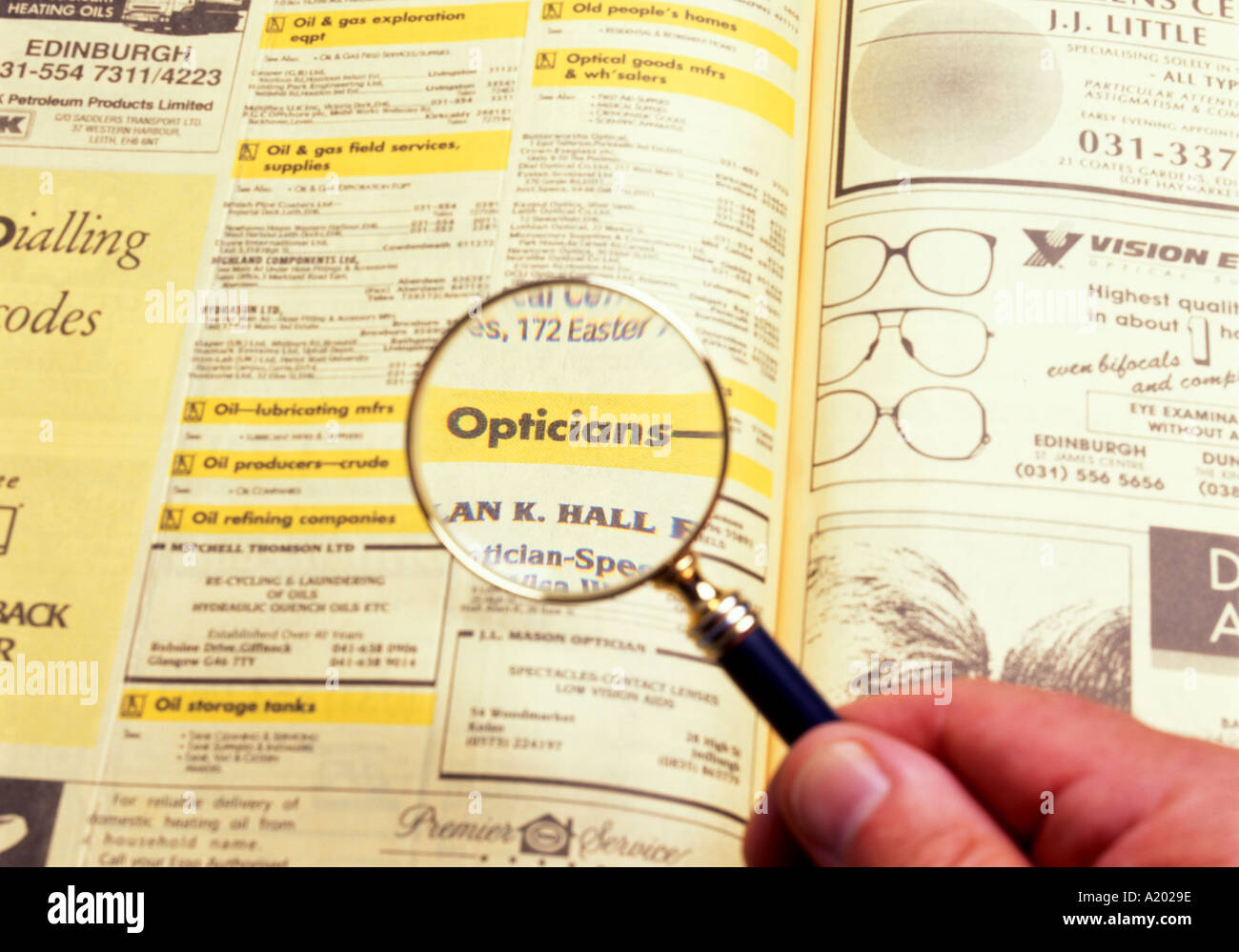Yellow Pages Stock Photos & Yellow Pages Stock Images - Alamy