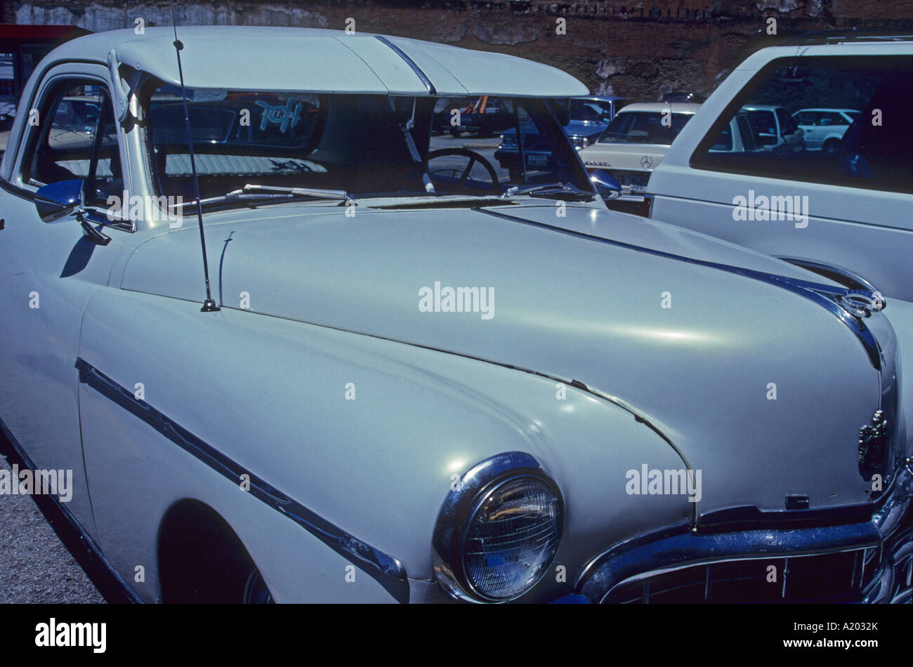 An old car in Los Angeles U.S.A. North America Stock Photo: 10362378 ...