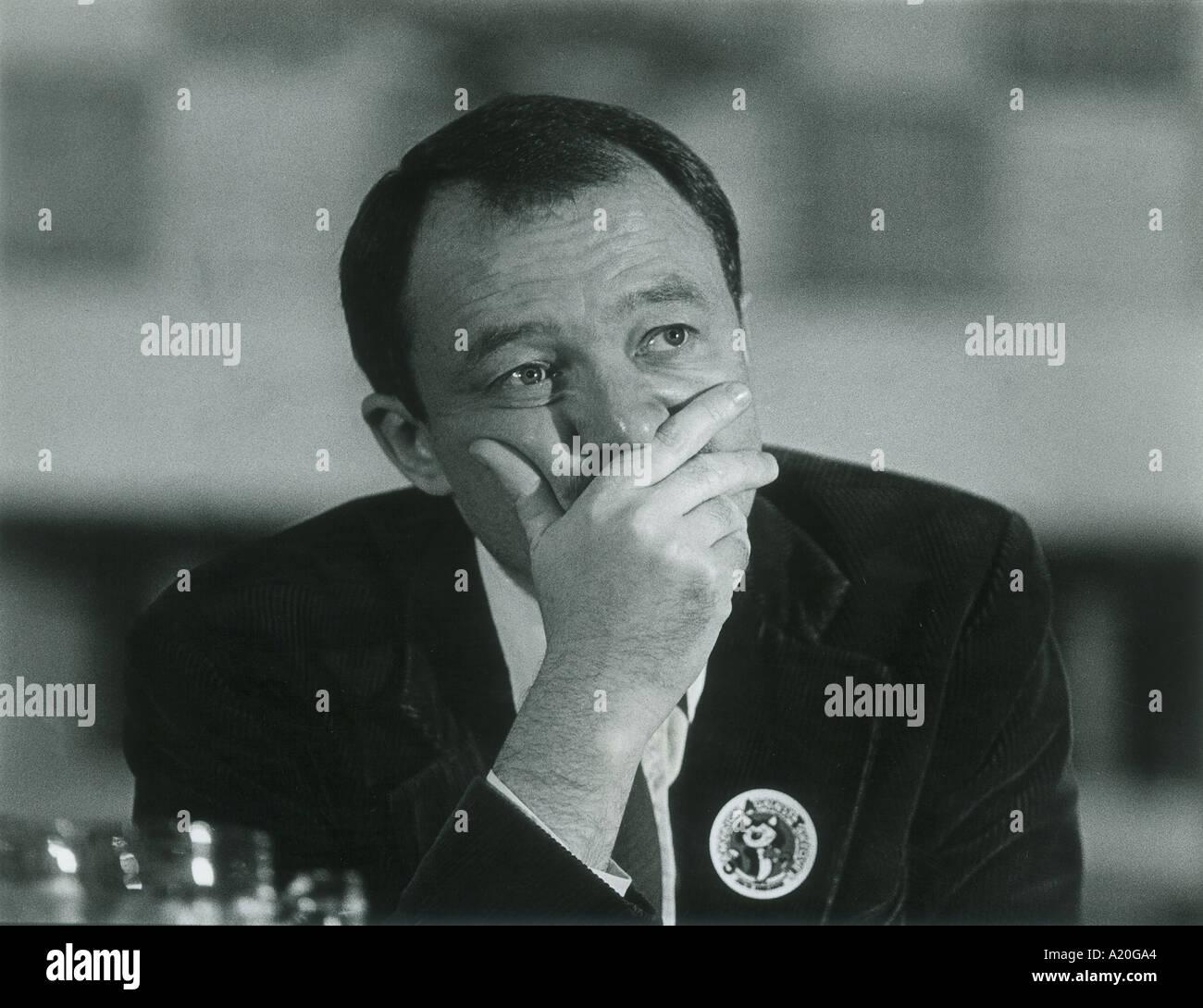 Ken Livingstone Mayor of London and former leader of the GLC. - Stock Image