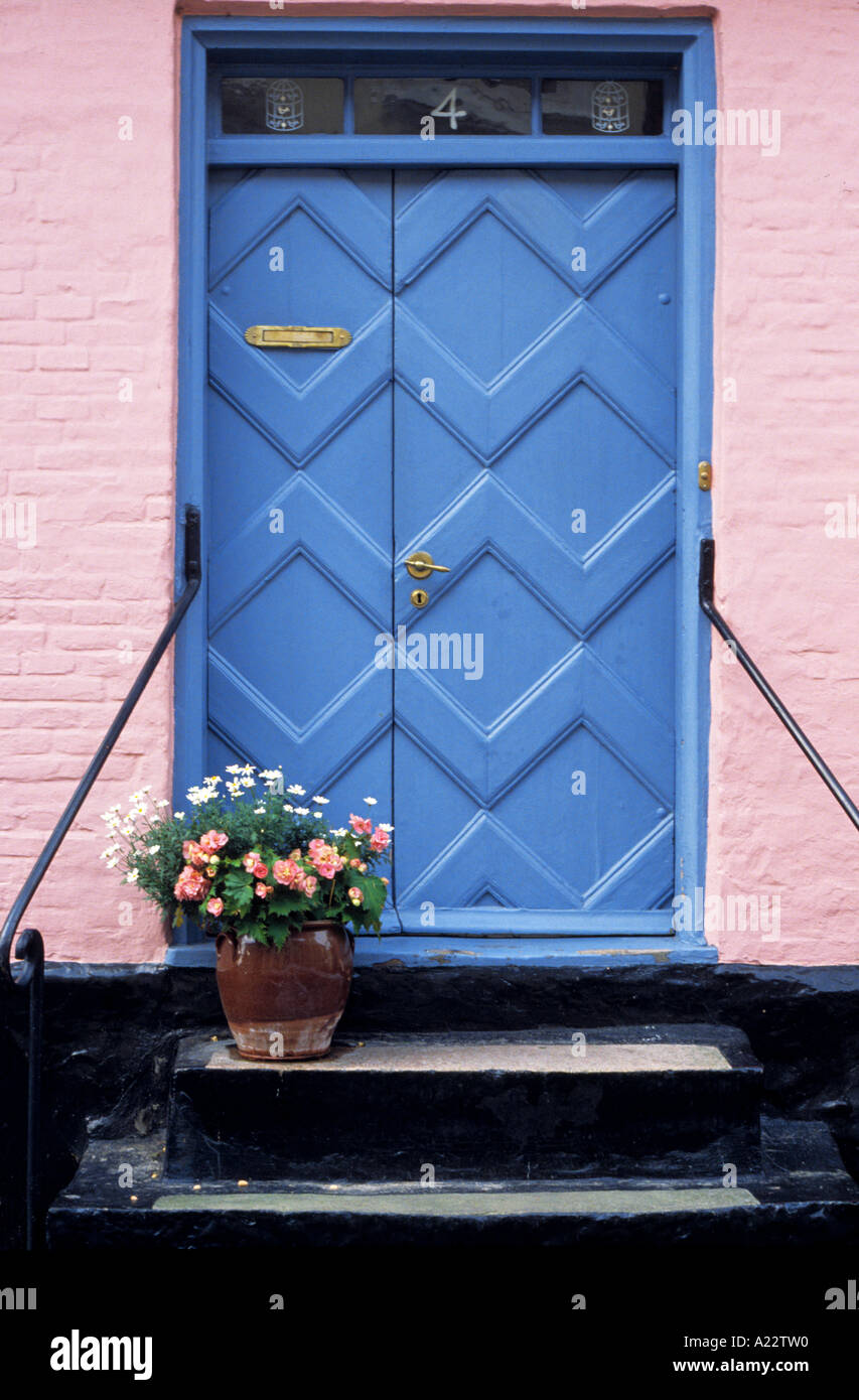 Door Aeroskobing, Denmark Stock Photo
