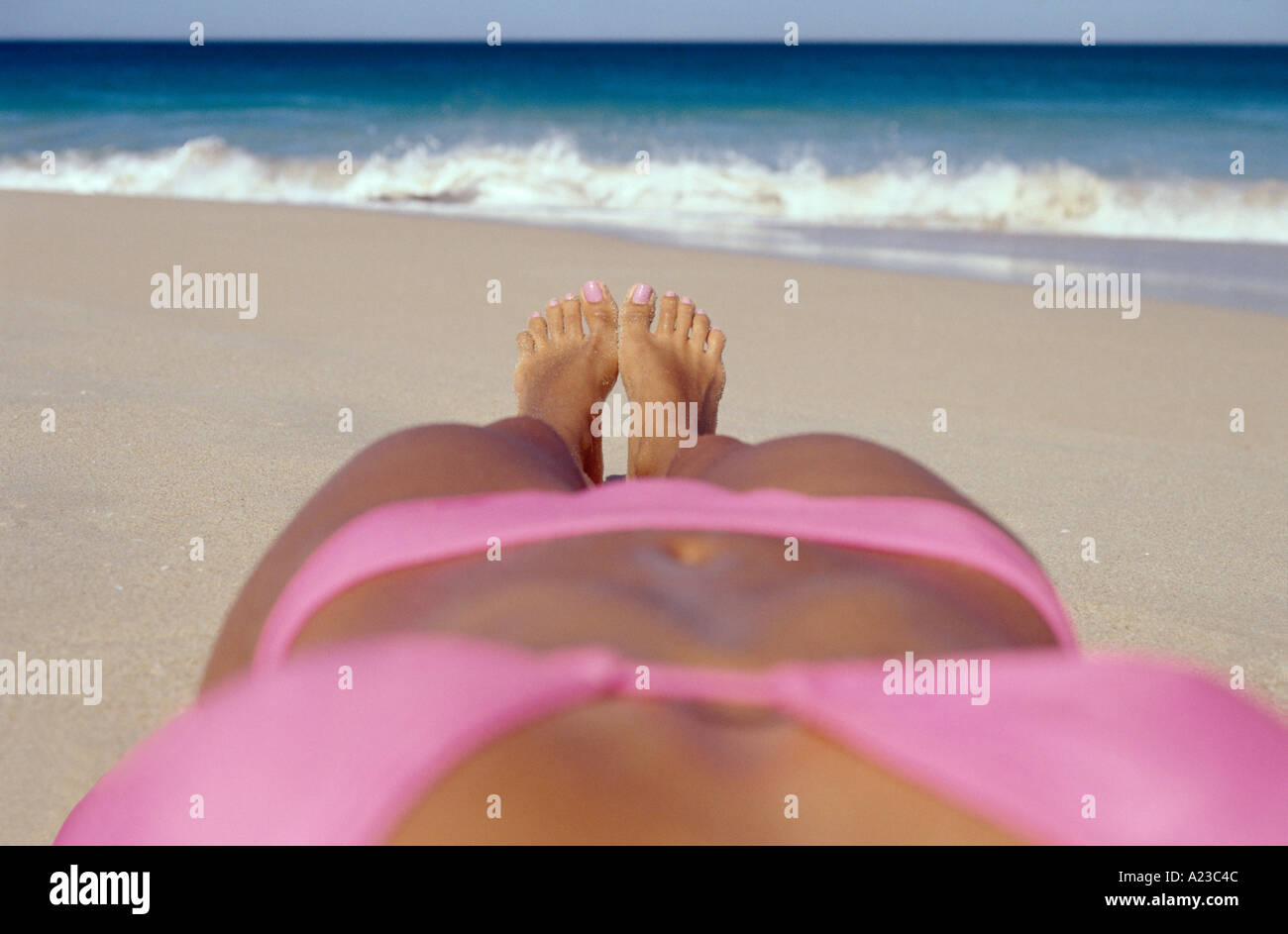 6366ae65990 Pink Bikini Stock Photos & Pink Bikini Stock Images - Alamy
