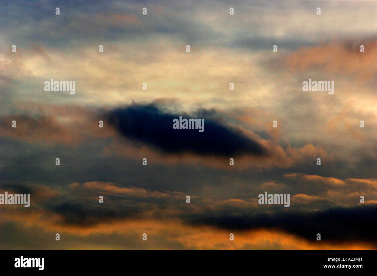 Evening Sky - Stock Image