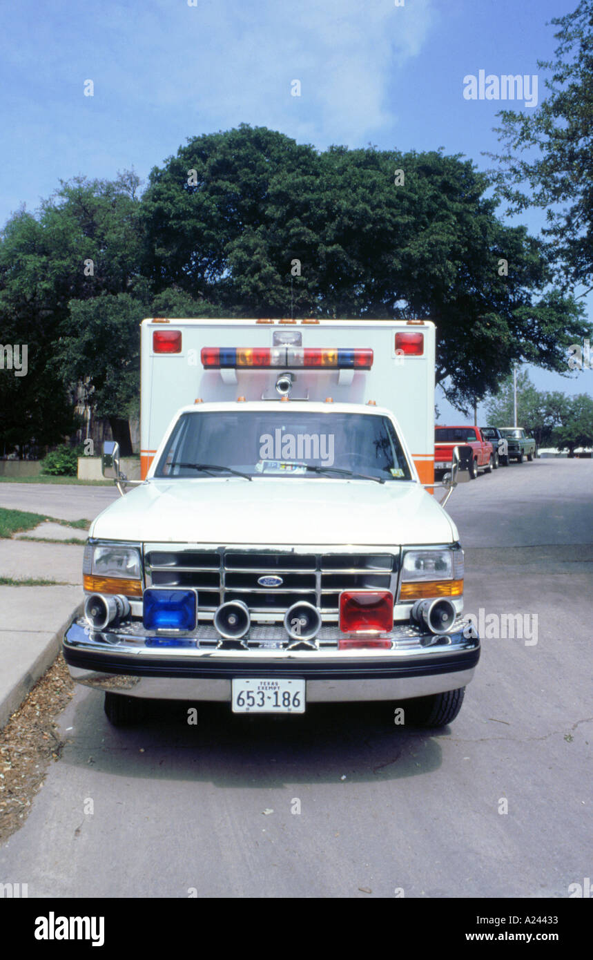 American Ford Ambulance - Stock Image