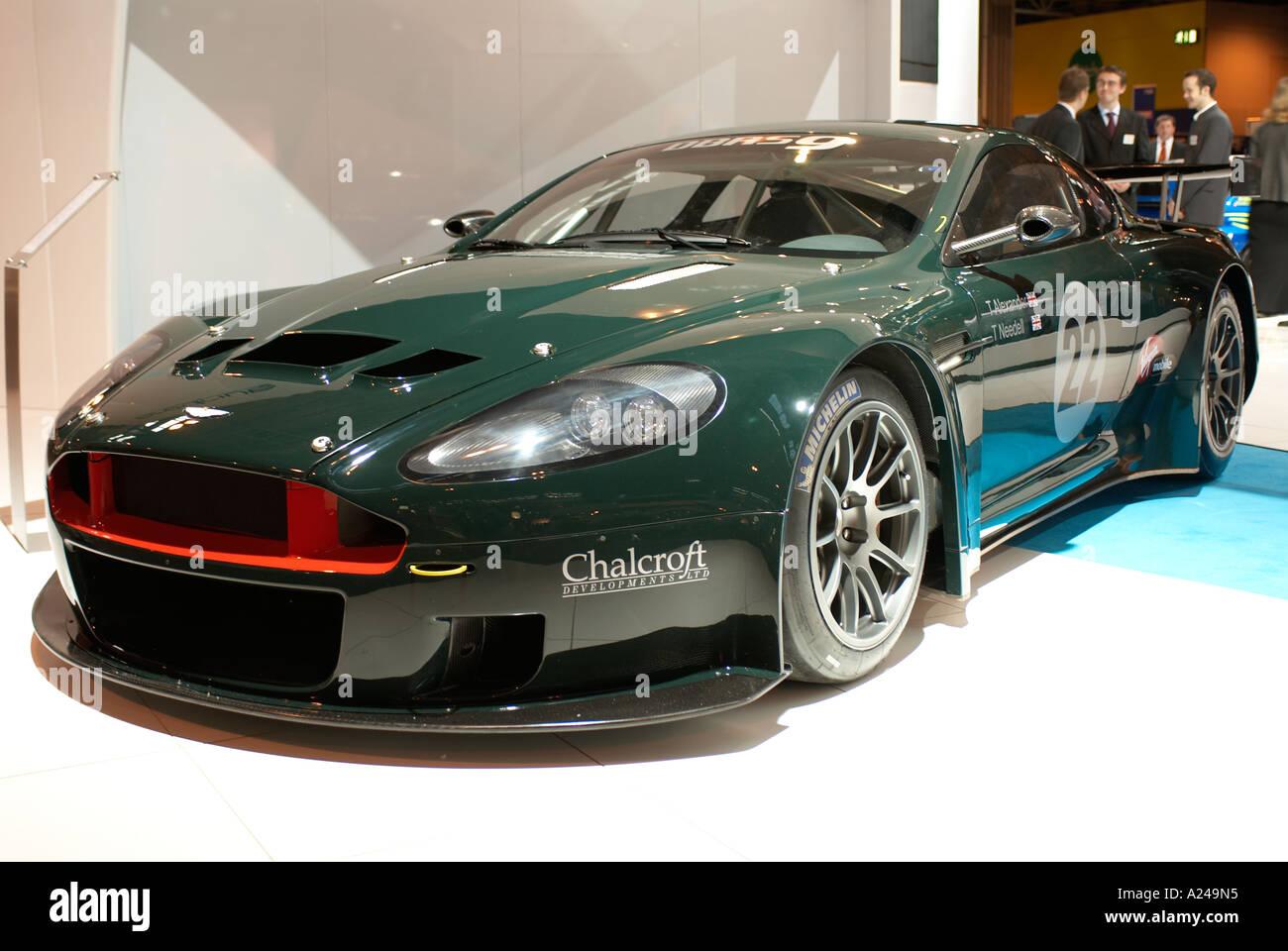 Aston Martin Dbrs9 Pictured At The Autosport International Show Stock Photo Alamy