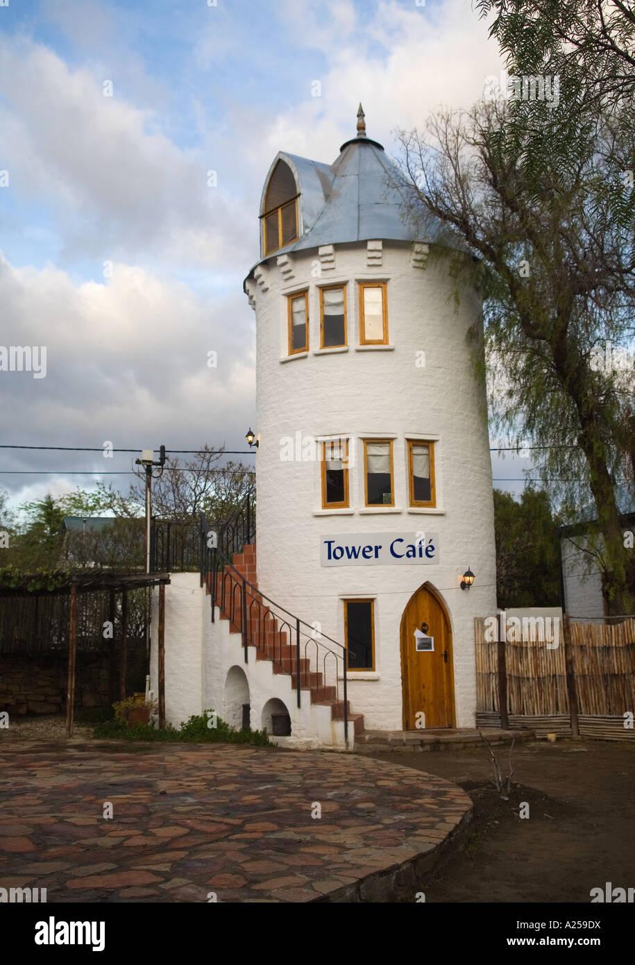 tower cafe in nieu bethesda Stock Photo: 10411573 - Alamy